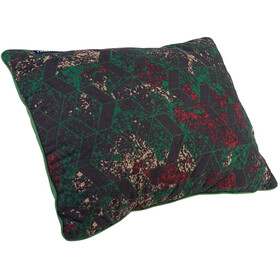 Nomad Travel Pillow verde/rosso